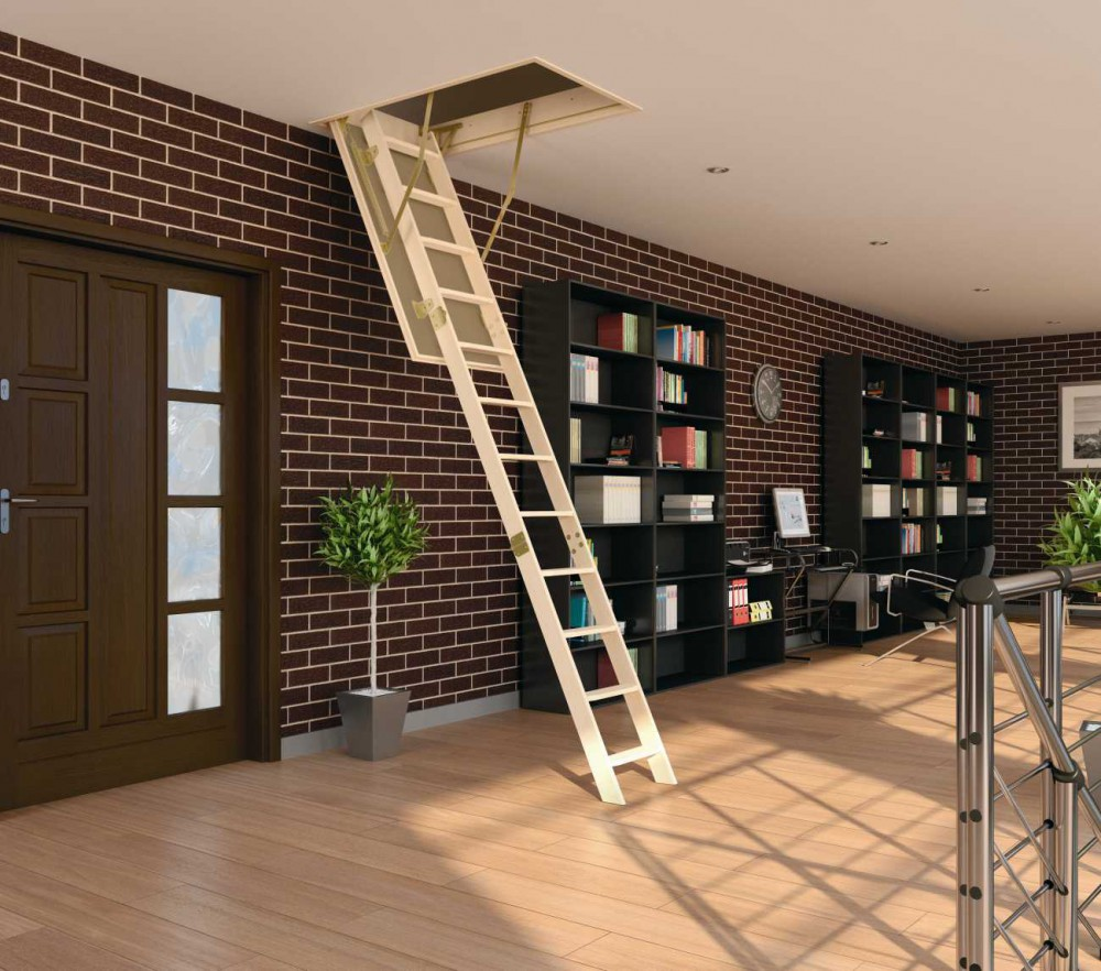 Деревянная лестница FAKRO