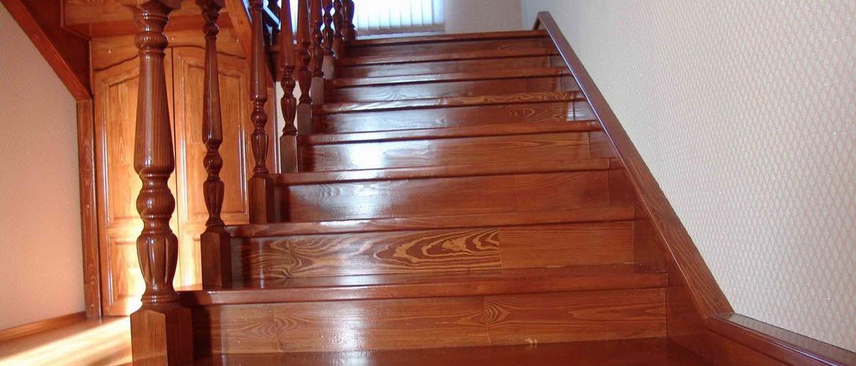 Устройство железобетонных и деревянных лестниц