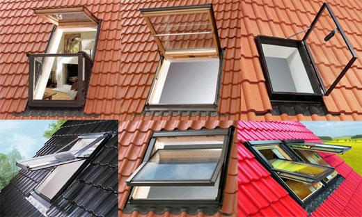 Мансардные окна FAKRO - Разнообразие выбора
