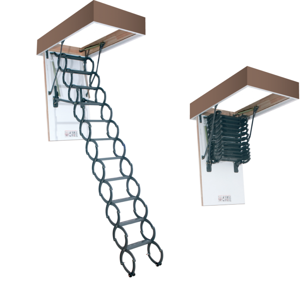 Металлические лестницы FAKRO